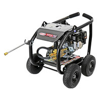 Simpson 65200 Super Pro Pressure Washer with Roll Cage, Honda Engine, and 25' Hose - 3600 PSI; 2.5 GPM