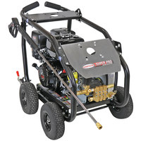 Simpson 65209 Super Pro Pressure Washer with Roll Cage, Honda Belt-Driven Engine, and 50' Hose - 4200 PSI; 4 GPM