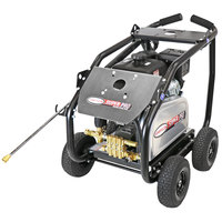 Simpson 65210 Super Pro Pressure Washer with Roll Cage, Kohler Belt-Driven Engine, and 50' Hose - 4400 PSI; 4 GPM