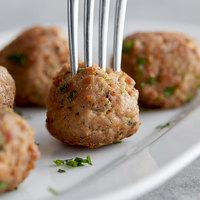 Fontanini Mamma Ranne's 0.75 oz. Italian Style Beef / Pork Meatballs - 10 lb.
