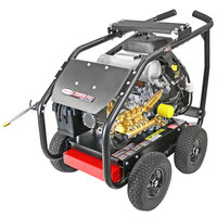 Simpson 65214 Super Pro Pressure Washer with Roll Cage, Kohler Engine, and 50' Hose - 6000 PSI; 5 GPM