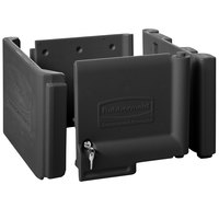 Rubbermaid 1861443 Executive Series Black Locking Cabinet Door Kit for Janitorial Cleaning Carts