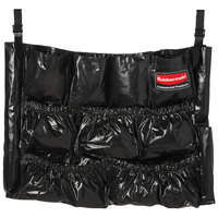 Rubbermaid 1867533 Executive Series Black BRUTE Caddy Bag for 32 and 44 Gallon Trash Cans