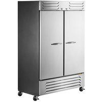 Beverage-Air SF2HC-1S Slate Series 52 inch Solid Door Reach-In Freezer
