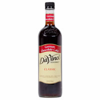 DaVinci Gourmet 750 mL German Chocolate Cake Classic Coffee Flavoring Syrup