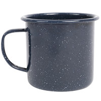 Crow Canyon Home K11NVY Stinson 12 oz. Navy Speckle Enamelware Mug