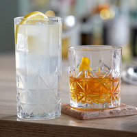 Acopa Gardenia Rocks and Highball Glass Set - 24/Set