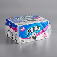 Panda 2-Ply Ultra-Premium 176 Sheet Bathroom Tissue Roll - 24/Case