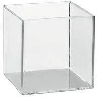 Solia PS30321 2.4 oz. Clear Plastic Cube - 200/Case