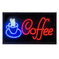 Choice LED Coffee Sign
