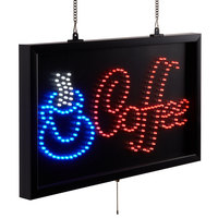 Choice 22 inch x 13 inch LED Coffee Sign With Three Display Modes