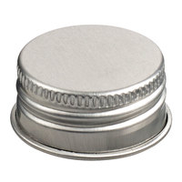 Solia CAP35 Aluminum Cap for 11.8 oz. NUDE Flask   - 100/Case