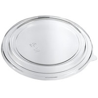 Solia ES31279 Clear Plastic Lid for 43.9 oz. Kraft Salad Bowl - 300/Case