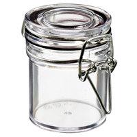 Solia BU60000 Tradition 1.5 oz. Clear Plastic Jar - 240/Case