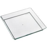 Solia PS30440 Quartz 5 1/8 inch x 5 1/8 inch Green Plastic Plate - 200/Case