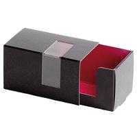 Solia EC26200 Gourmandine Cardboard Box for 3 Macarons - 250/Case