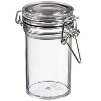 Solia BU60050 Tradition 2.7 oz. Clear Plastic Jar - 240/Case