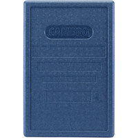 Cambro EPP180LID362 Cam GoBox® Full Size Top Loader Replacement Blue Lid