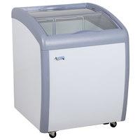 Avantco DFC6-HC 26 1/4 inch Curved Top Display Ice Cream Freezer