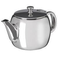 Carlisle 609155 Rhapsody 14 oz. 18/8 Mirror Polish Stainless Steel Coffee / Tea Server