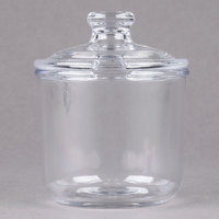 Cambro CJ80CW135 8 oz. Camwear Condiment Jar with Slotted Lid