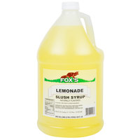 Fox's 1 Gallon Lemonade Slush Syrup - 4/Case
