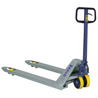 Wesco Industrial Products 272148 Standard Deluxe Pallet Truck with 21 inch x 48 inch Forks - 5500 lb. Capacity