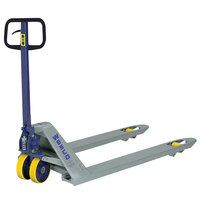 Wesco Industrial Products 272760 Deluxe Lowboy Pallet Truck with 21 inch x 36 inch Forks - 5500 lb. Capacity