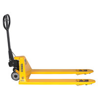 Wesco Industrial Products 272667 Pallet Truck with 27 inch x 48 inch Forks and Hand Brake - 5500 lb. Capacity