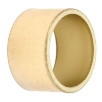 Tabletop Classics AC-6512G Gold 1 3/4 inch Round Acrylic Napkin Ring