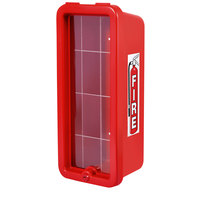 Cato 10551-O Chief Red Surface-Mounted Fire Extinguisher Cabinet for 5 lb. Fire Extinguishers