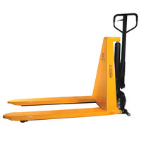 Wesco Industrial Products 272462 2200 lb. Manual High Lift Pallet Truck with 21 inch x 44 1/2 inch Forks and 31 1/2 inch Lift Height