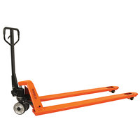 Wesco Industrial Products 273585 Long Fork Pallet Truck with 27 inch x 59 inch Forks - 4400 lb. Capacity