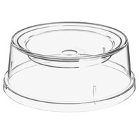 Carlisle 196007 9 inch Clear Polycarbonate Bowl and Plate Cover - 12/Case