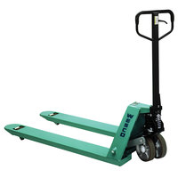 Wesco Industrial Products 272777 CPII Pallet Truck with 21 inch x 48 inch Forks and Polyurethane Wheels - 5500 lb. Capacity