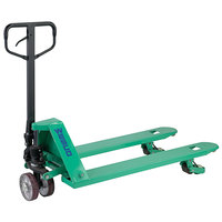 Wesco Industrial Products 272740 TransRoller Pallet Truck with 27 inch x 48 inch Forks - 5000 lb. Standard / 2200 lb. Lateral Capacity