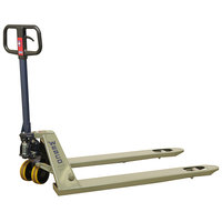 Wesco Industrial Products 272765 Deluxe Lowboy Pallet Truck with 27 inch x 48 inch Forks - 5500 lb. Capacity