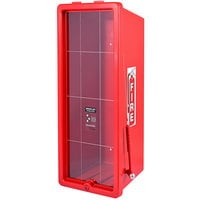 Cato 12051-H Chief Red Surface-Mounted Fire Extinguisher Cabinet with Hammer Attachment for 20 lb. Fire Extinguishers