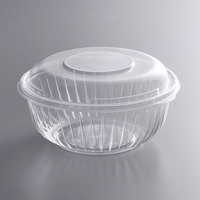 Dart C32BCD PresentaBowls 32 oz. Clear OPS Plastic Bowl with Dome Lid - 126/Case