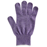 San Jamar SG10-PR-L Purple Cut Resistant Glove with Dyneema - Large
