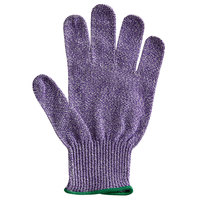 San Jamar SG10-PR-M Purple Cut Resistant Glove with Dyneema - Medium