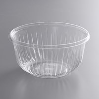 Dart PET48B PresentaBowls 48 oz. Clear PET Plastic Bowl - 252/Case
