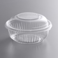 Dart C12BCD PresentaBowls 12 oz. Clear OPS Plastic Bowl with Dome Lid - 252/Case