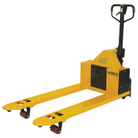 Wesco Industrial Products 273288 Semi-Electric Pallet Truck with 20 1/2 inch x 48 inch Forks - 2200 lb. Capacity