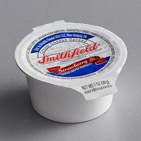Smithfield 1 oz. Strawberry Cream Cheese Cup - 100/Case