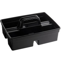 Rubbermaid 1880994 Black Executive Divided Carry Caddy