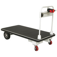Wesco Industrial Products 272415 Battery-Powered 1100 lb. Platform Truck with 30 inch x 48 inch Platform - 24V