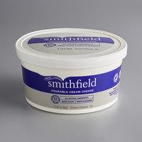 Smithfield 3 lb. Tub Pourable Cream Cheese - 2/Case