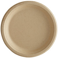 Tellus Products TE05F 10 inch Round Natural Bagasse Plate - 500/Case