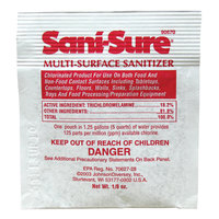 Diversey 90670 Sani-Sure 1/8 oz. Multi-Surface Sanitizer Packet - 100/Case